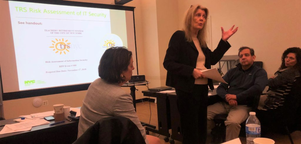 Colleen Molter teaches small business owners how to get certified in NYC