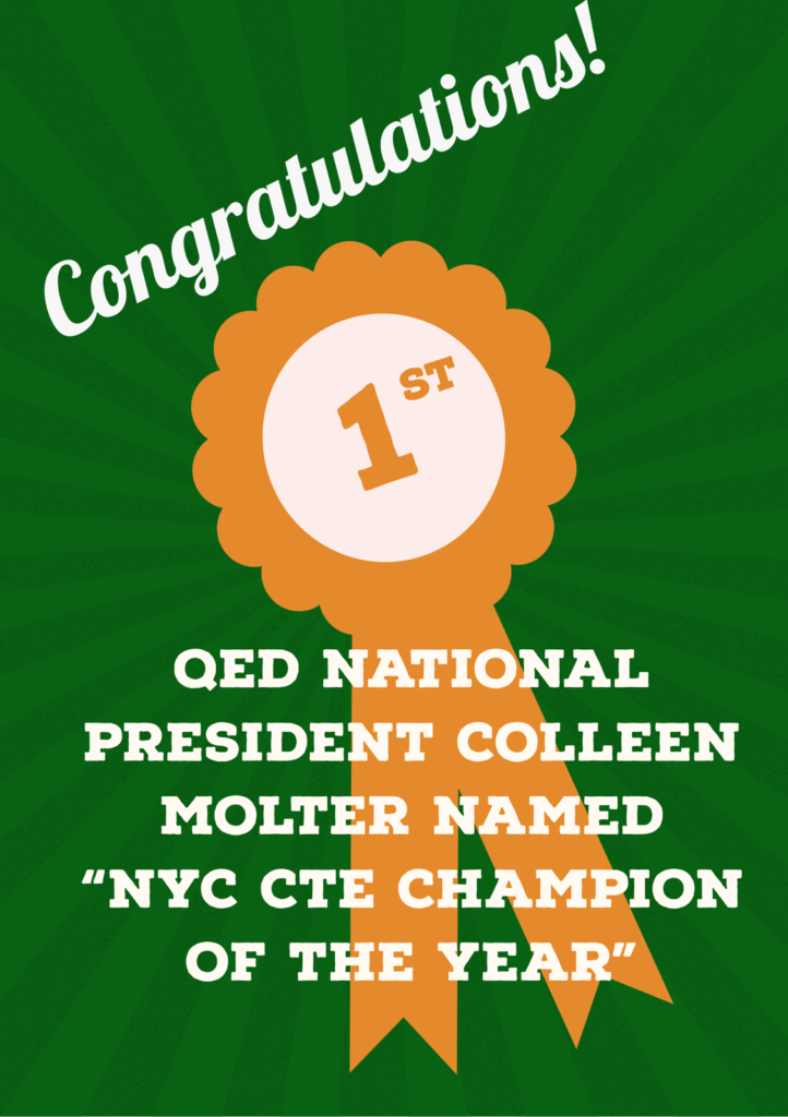 NYC CTE Champion of the Year - Cyber Security
